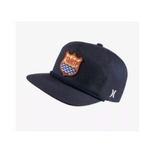 Hurley Tahiti Baseball Hat Cap Snapback Flatbill